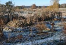 Winter im Zempower Heil-Kunst-Garten